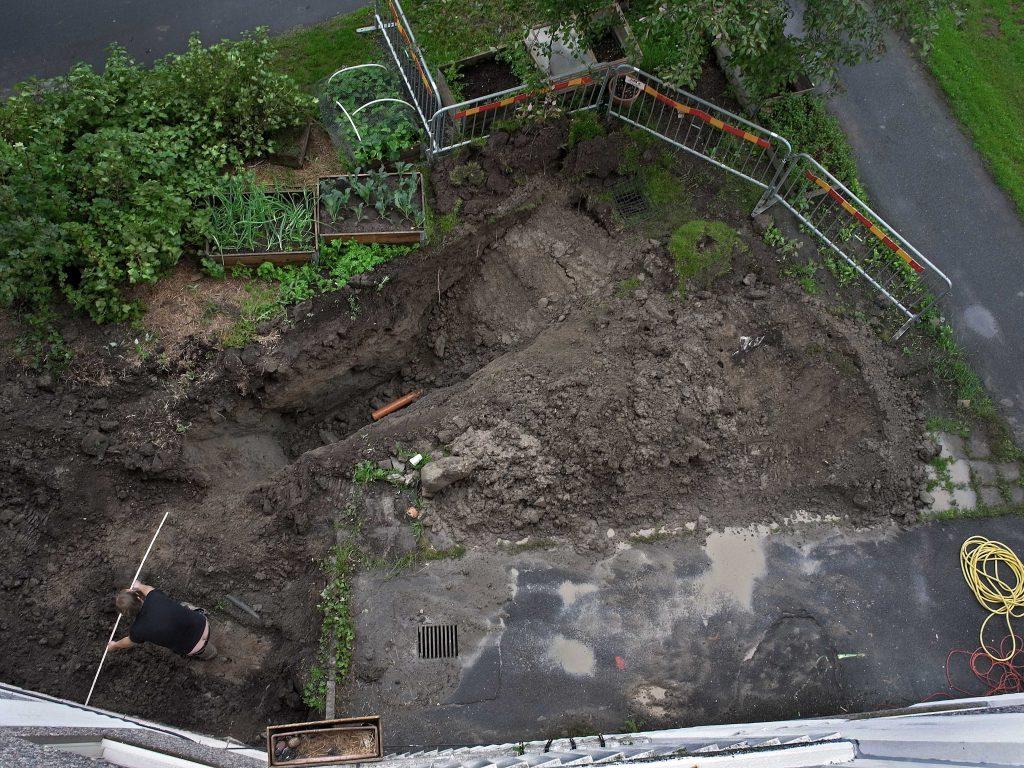 Från min balkong:  2