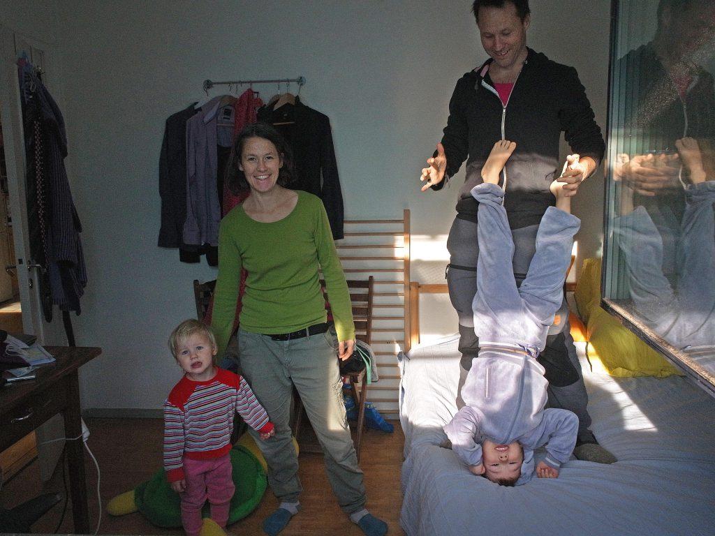 Karl, Nellie, Vanja och Arvid